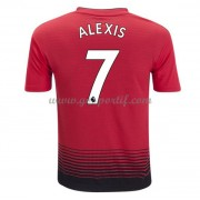 maillot de foot Premier League Manchester United 2018-19 Alexis Sanchez 7 maillot domicile