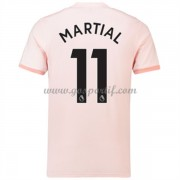 maillot de foot Premier League Manchester United 2018-19 Anthony Martial 11 maillot extérieur..