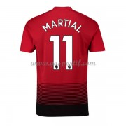 maillot de foot Premier League Manchester United 2018-19 Anthony Martial 11 maillot domicile..