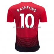 maillot de foot Premier League Manchester United 2018-19 Marcus Rashford 10 maillot domicile