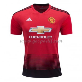 maillot de foot Premier League Manchester United 2018-19 maillot domicile