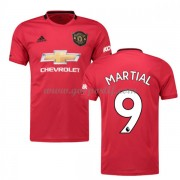 maillot de foot pas cher Manchester United 2019-20 Anthony Martial 9 maillot domicile