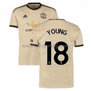 maillot de foot pas cher Manchester United 2019-20 Ashley Young 18 maillot extérieur..