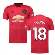 maillot de foot pas cher Manchester United 2019-20 Ashley Young 18 maillot domicile