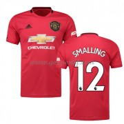 maillot de foot pas cher Manchester United 2019-20 Chris Smalling 12 maillot domicile