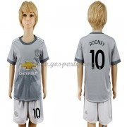 Manchester United maillot de foot enfant 2017-18 Wayne Rooney 10 maillot third..