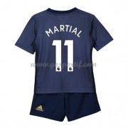 Manchester United maillot de foot enfant 2018-19 Anthony Martial 11 maillot third..