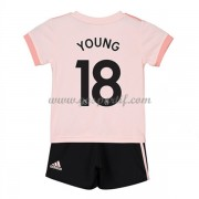 Manchester United maillot de foot enfant 2018-19 Ashley Young 18 maillot extérieur..