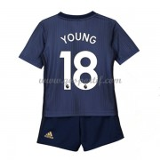 Manchester United maillot de foot enfant 2018-19 Ashley Young 18 maillot third..