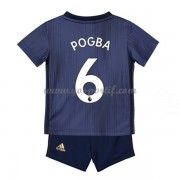 Manchester United maillot de foot enfant 2018-19 Paul Pogba 6 maillot third..