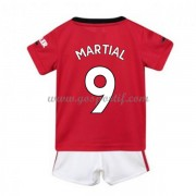 Manchester United maillot de foot enfant 2019-20 Anthony Martial 9 maillot domicile