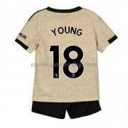 Manchester United maillot de foot enfant 2019-20 Ashley Young 18 maillot extérieur..