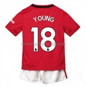 Manchester United maillot de foot enfant 2019-20 Ashley Young 18 maillot domicile..