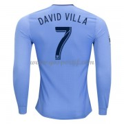 maillot de foot Clubs New York City 2017-18 David Villa 7 maillot domicile manche longue..