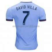maillot de foot Clubs New York City 2017-18 David Villa 7 maillot domicile..