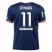 maillot de foot Ligue 1 Paris Saint Germain PSG 2017-18 Di Maria 11 maillot domicile..