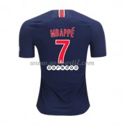 maillot de foot Ligue 1 Paris Saint Germain PSG 2018-19 Kylian Mbappé 7 maillot domicile