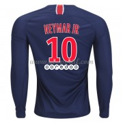 maillot de foot Ligue 1 Paris Saint Germain PSG 2018-19 Neymar Jr 10 maillot domicile manche longue..