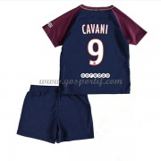 Paris Saint Germain PSG maillot de foot enfant 2017-18 Edinson Cavani 9 maillot domicile..