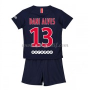 Paris Saint Germain PSG maillot de foot enfant 2019-20 Dani Alves 13 maillot domicile..