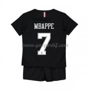 Paris Saint Germain PSG maillot de foot enfant 2019-20 Kylian Mbappe 7 maillot third..