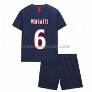 Paris Saint Germain PSG maillot de foot enfant 2019-20 Marco Verratti 6 maillot domicile..