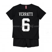 Paris Saint Germain PSG maillot de foot enfant 2019-20 Marco Verratti 6 maillot third..