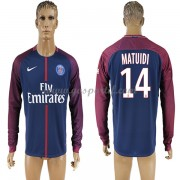 maillot de foot Ligue 1 Paris Saint Germain Psg 2017-18 Blaise Matuidi 14 maillot domicile manche lo..