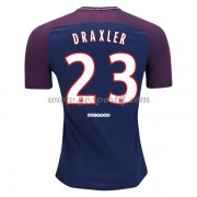 maillot de foot Ligue 1 Paris Saint Germain Psg 2017-18 Julian Draxler 23 maillot domicile..