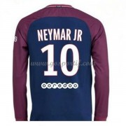 maillot de foot Ligue 1 Paris Saint Germain Psg 2017-18 Neymar Jr 10 maillot domicile manche longue..