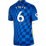 maillot de foot Ligue 1 Paris Saint Germain Psg 2017-18 Thiago Silva 2 maillot domicile..