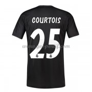 maillot de foot La Liga Real Madrid 2018-19 Thibaut Courtois 25 gardien de but maillot domicile