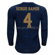 maillot de foot pas cher Real Madrid 2019-20 Sergio Ramos 4 maillot extérieur manche longue..