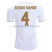 maillot de foot pas cher Real Madrid 2019-20 Sergio Ramos 4 maillot domicile..