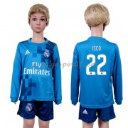 Real Madrid maillot de foot enfant 2017-18 Isco 22 maillot third manche longue..