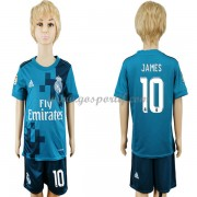 Real Madrid maillot de foot enfant 2017-18 James Rodriguez 10 maillot third..