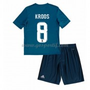 Real Madrid maillot de foot enfant 2017-18 Toni Kroos 8 maillot third..
