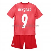 Real Madrid maillot de foot enfant 2018-19 Karim Benzema 9 maillot third..