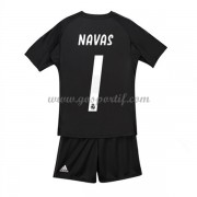 Real Madrid maillot de foot enfant 2018-19 gardien de but Keylor Navas 1 maillot domicile..