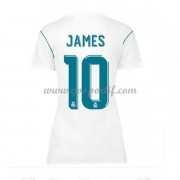 Real Madrid maillot de foot femme 2017-18 James Rodriguez 10 maillot domicile..