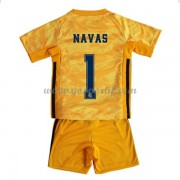 Real Madrid maillot de foot enfant 2019-20 gardien de but Keylor Navas 1 maillot domicile..