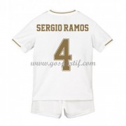Real Madrid maillot de foot enfant 2019-20 Sergio Ramos 4 maillot domicile..