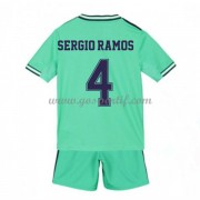 Real Madrid maillot de foot enfant 2019-20 Sergio Ramos 4 maillot third..