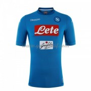 maillot de foot Series A SSC Napoli 2017-18 maillot domicile..