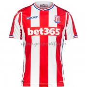 maillot de foot Premier League Stoke City 2017-18 maillot domicile..