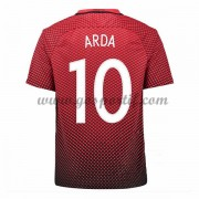 maillot de foot pas cher Dinde Coupe d'europe 2016 Arda Turan 10 maillot domicile..
