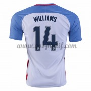 maillot de foot équipe nationale Etats-Unis 2016 Danny Williams 14 maillot domicile..