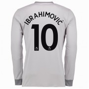 maillot de foot Premier League Manchester United 2017-18 Zlatan Ibrahimovic 10 maillot third manche ..