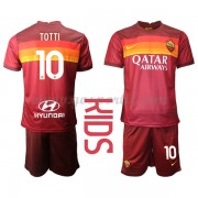 AS Roma maillot de foot enfant 2020-21 Francesco Totti 10 maillot domicile