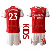 Arsenal maillot de foot enfant 2020-21 David Luiz 23 maillot domicile